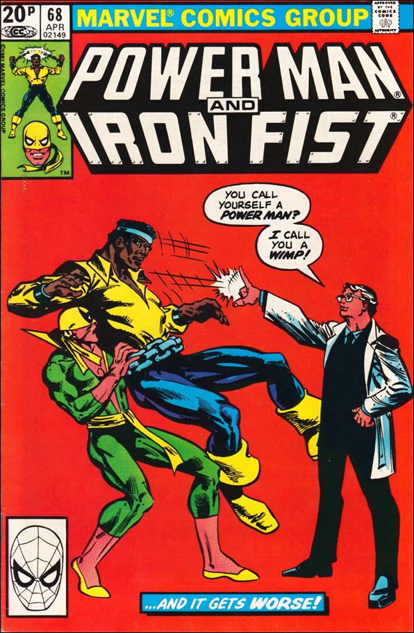 Power Man and Iron Fist (1978) 68-B by Marvel