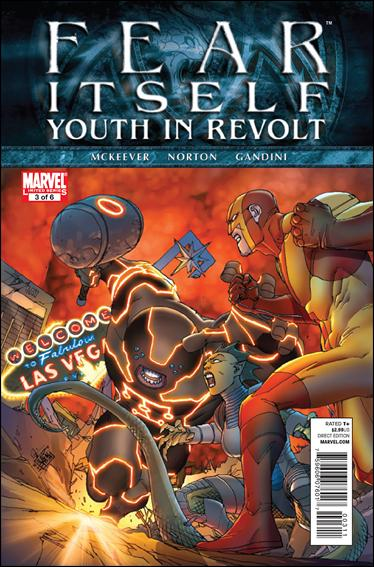 Fear Itself: Youth In Revolt 3-A by Marvel