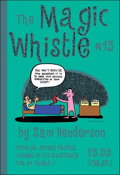 Magic Whistle 13-A by Alternative Comics