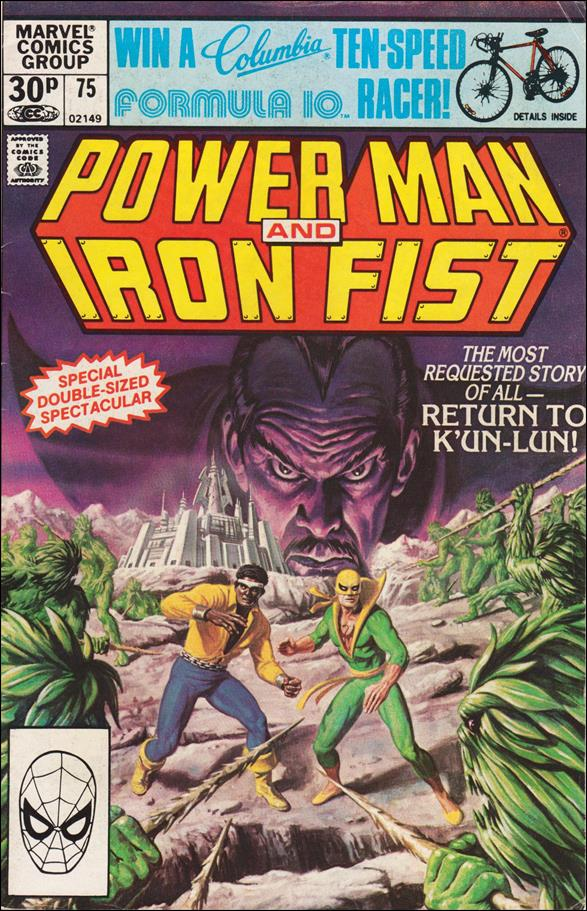 Power Man and Iron Fist (1978) 75-B by Marvel