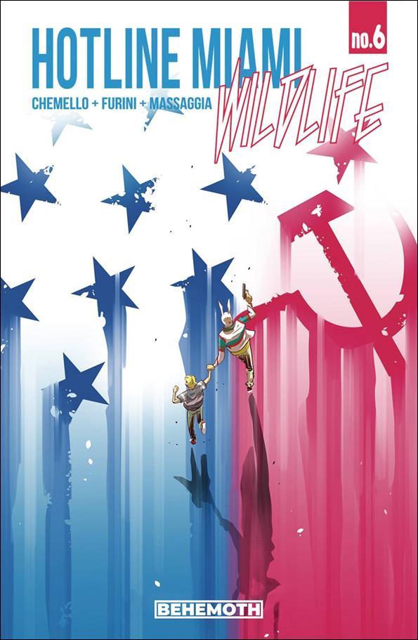 Hotline Miami: Wildlife 6-A by Behemoth Comics