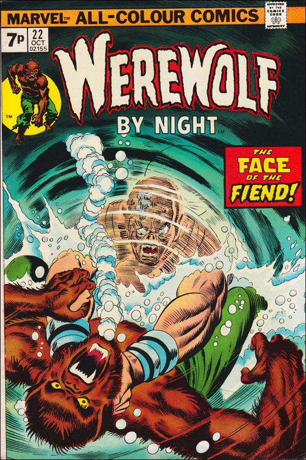 Werewolf by Night (1972) 22-B by Marvel