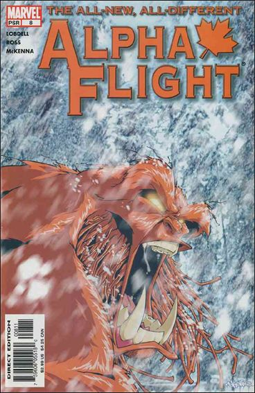 Alpha Flight (2004) 8-A by Marvel