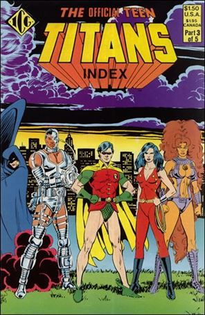 Official Teen Titans Index 3-A