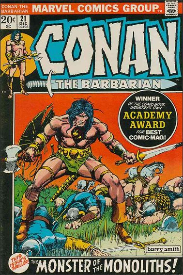 Conan the Barbarian (1970) 21-A by Marvel