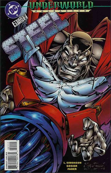 Steel (1994) 21-A by DC