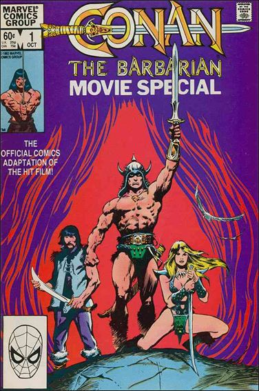 Conan the Barbarian Movie Special 1-A by Marvel