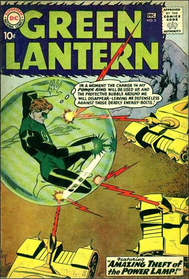 Green Lantern (1960) 3-A by DC