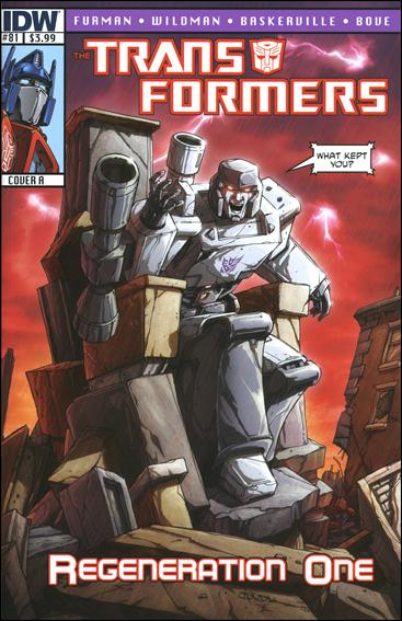 Transformers: Regeneration One 81-A by IDW