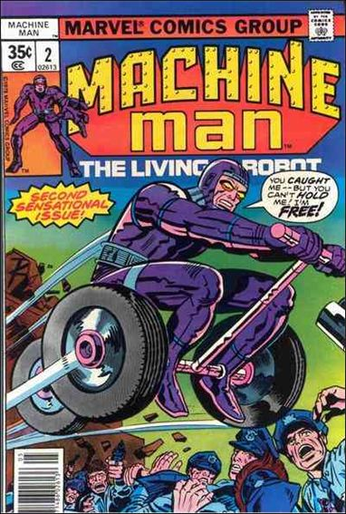 Machine Man (1978) 2-A by Marvel