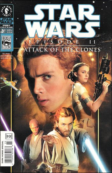 Star Wars: Episode II - Attack of the Clones 3-B by Dark Horse
