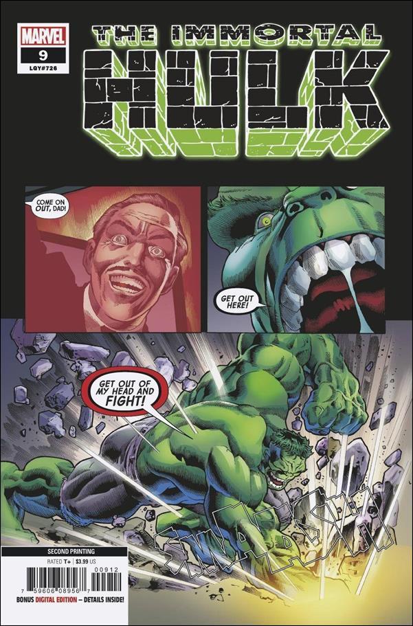 Immortal Hulk 9-C by Marvel