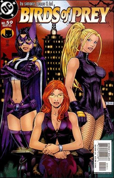 Birds of Prey (1999) 59-A by DC