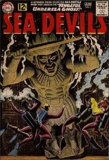 Sea Devils 5-A by DC