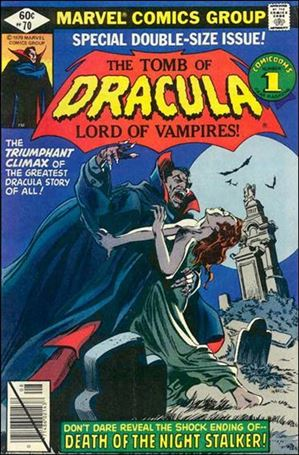Tomb of Dracula (1972) 70-A