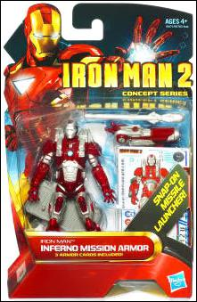 Iron Man 2 Iron Man - Inferno Mission Armor (Concept Series) by Hasbro