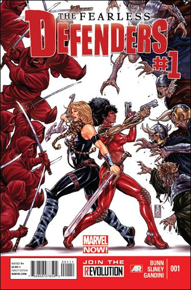 Fearless Defenders 1-A by Marvel