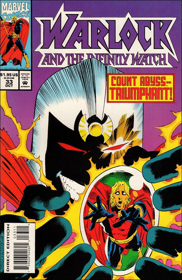 Warlock and the Infinity Watch 33-A by Marvel