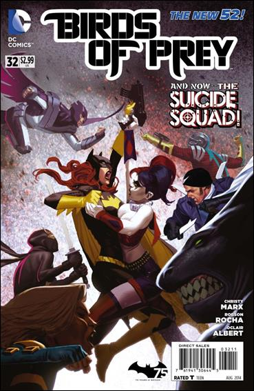 Birds of Prey (2011) 32-A by DC