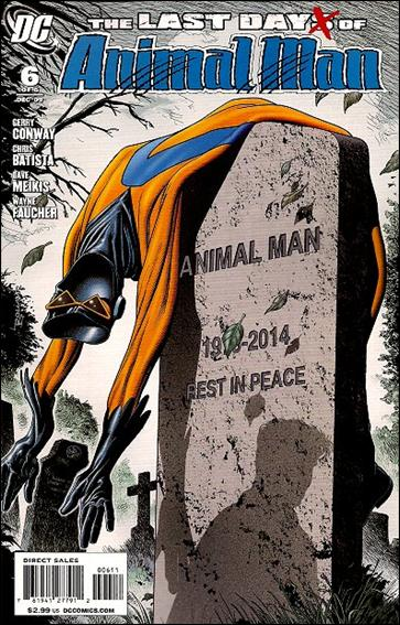 Last Days of Animal Man 6-A by DC