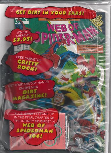 Web of Spider-Man (1985) 106-B by Marvel
