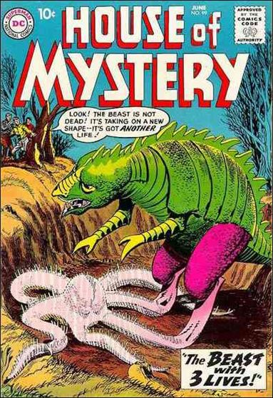 House of Mystery (1951) 99-A by DC