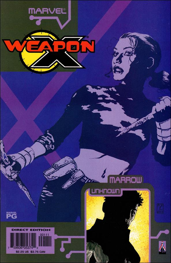 Weapon X: The Draft - Marrow 1-A by Marvel