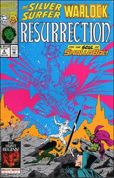 Silver Surfer/Warlock: Resurrection 4-A by Marvel