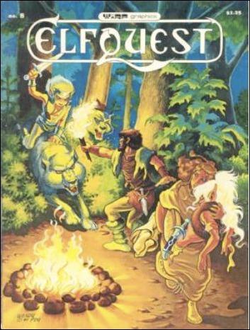 ElfQuest (1978) 8-B by Warp Graphics