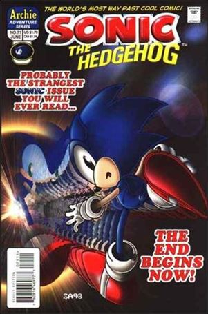 Sonic the Hedgehog (1993) 71-A