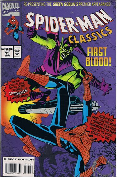 Spider-Man Classics 15-B by Marvel