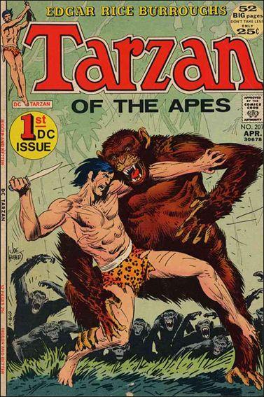 Tarzan (1972) 207-A by DC