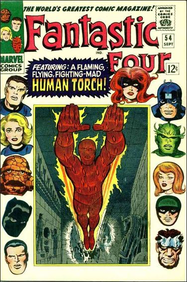 Fantastic Four (1961) 54-A by Marvel