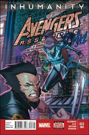 Avengers Assemble (2012) 23-A