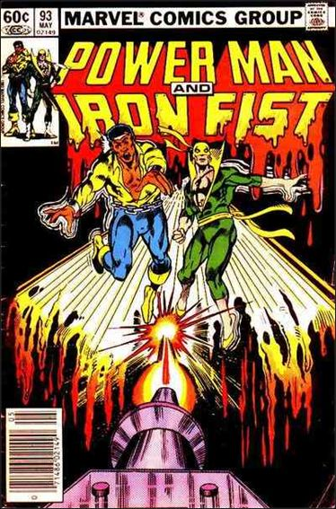 Power Man and Iron Fist (1978) 93-A by Marvel