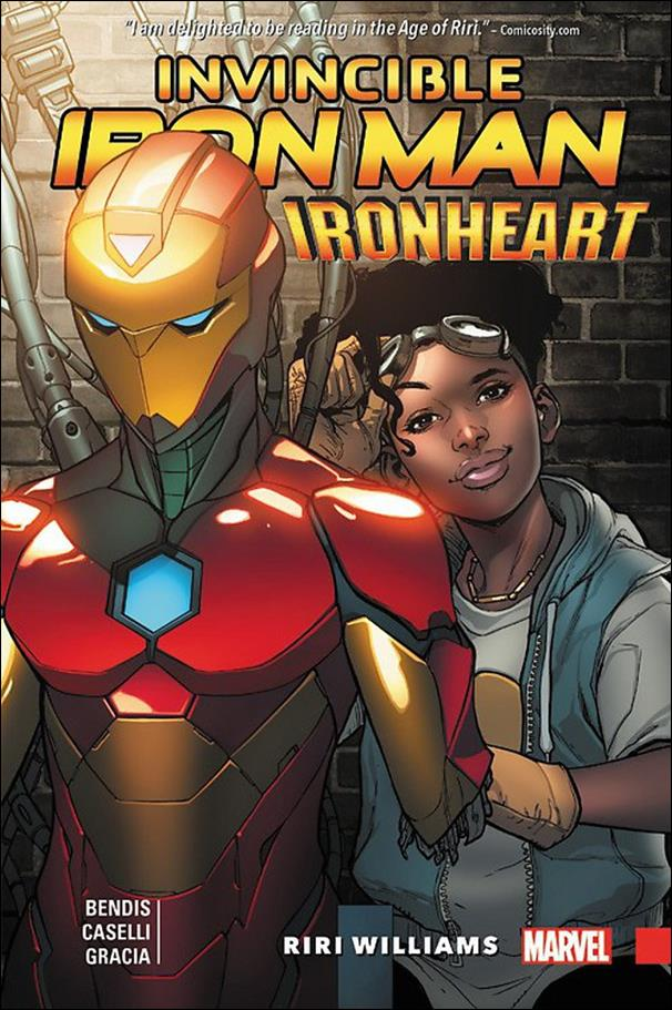Invincible Iron Man: Ironheart 1-A by Marvel