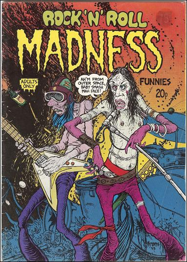 Rock 'N' Roll Madness Funnies 1-A by Cozmic Comic