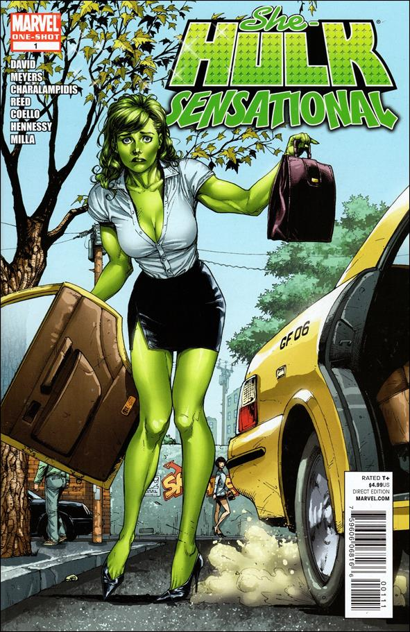 She-Hulk Sensational 1-A by Marvel