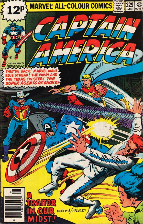 Captain America (1968) 229-B by Marvel