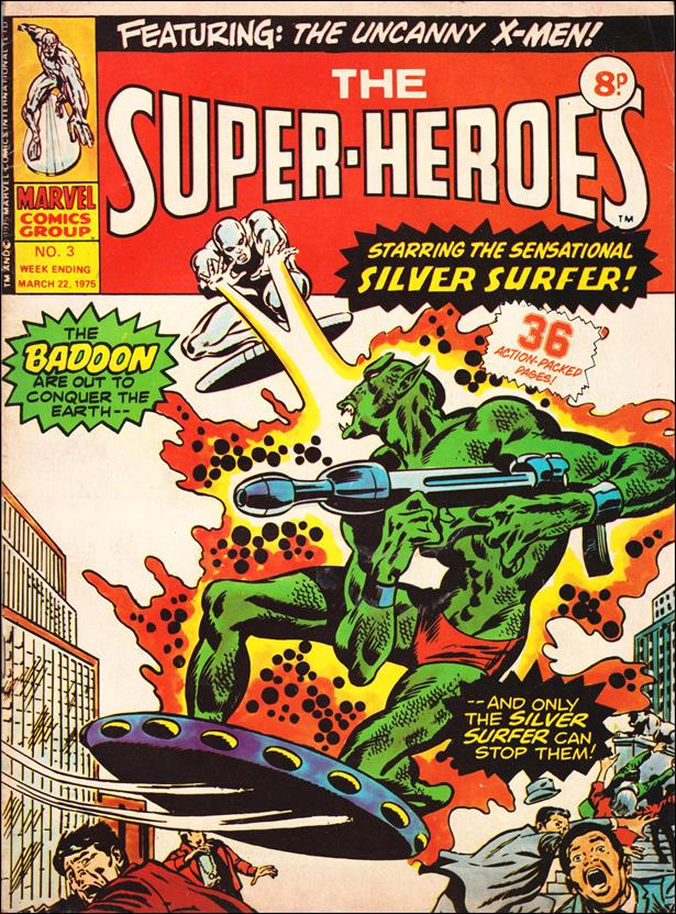 Super-Heroes (UK) 3-A by Marvel UK