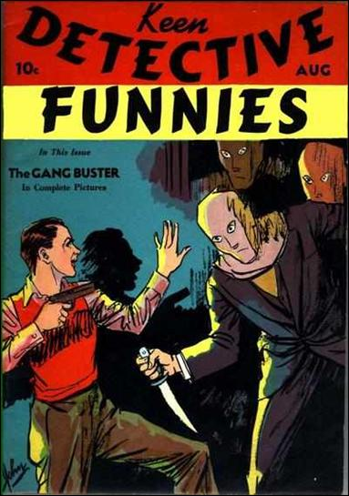 Keen Detective Funnies (1938) 9-A by Centaur Publications Inc.