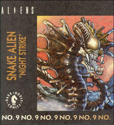 Aliens Action Figure Mini-Comics 9-A by Dark Horse