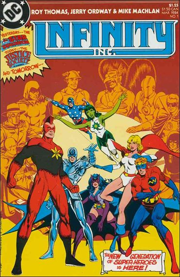Infinity Inc. (1984) 1-A by DC