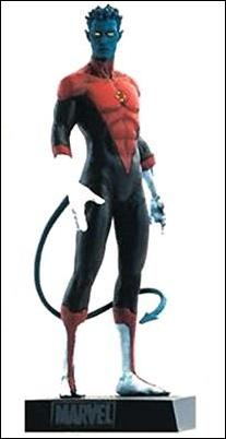 Classic Marvel Figurine Collection (UK) Nightcrawler by Eaglemoss Publications