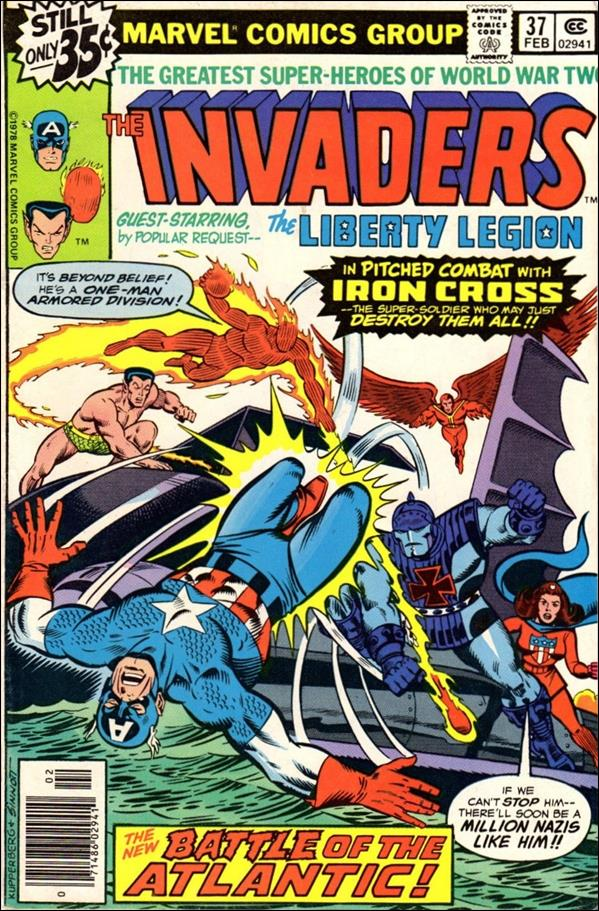 Invaders (1975) 37-A by Marvel
