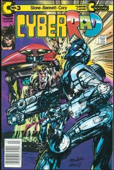 CyberRad (1991) 3-A by Continuity Comics