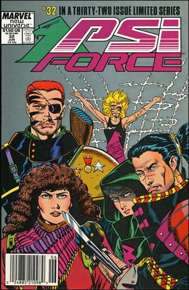 Psi-Force 32-A by Marvel