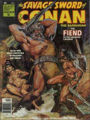 Savage Sword of Conan (1974) 28-A by Marvel