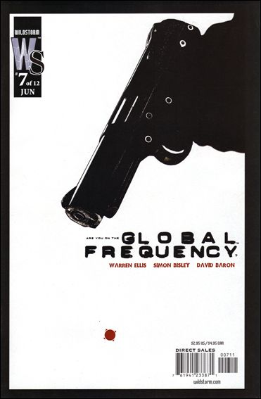 Global Frequency 7-A by WildStorm
