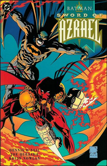 Batman: Sword of Azrael 1-A by DC